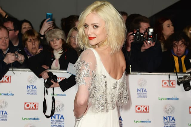 Fearne Cotton at National Television Awards - Red Carpet Arrivals
