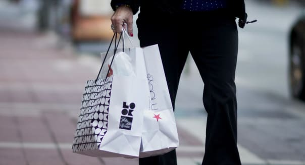 Shoppers At Kenwood Town Center As Consumer Sentiment Falls To 10-Month