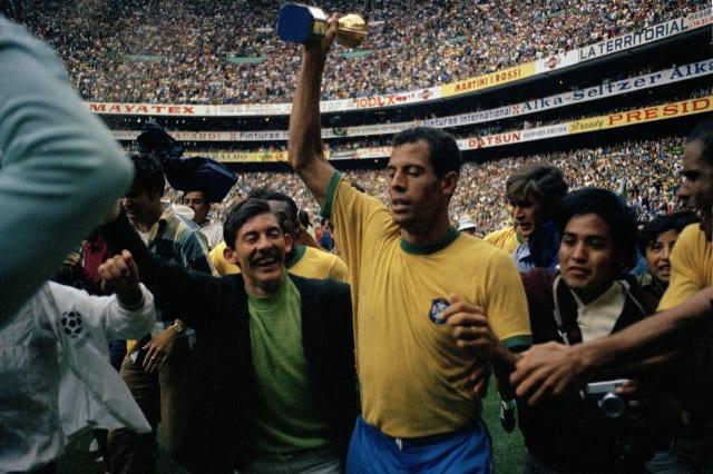 1970 WCUP Soccer Brazil vs Italy