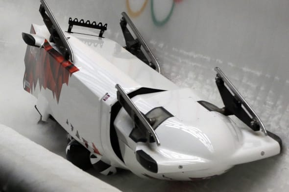 APTOPIX Sochi Olympics Bobsleigh Men