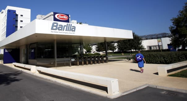 Inside Barilla SpA's New Plant For Italian Pasta Manufacturing