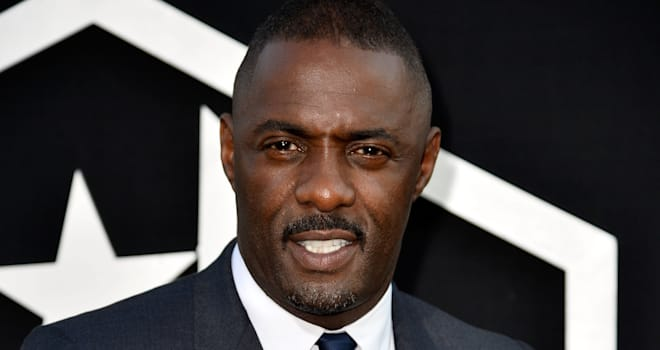 Idris Elba at the Hollywood Premiere of 'Pacific Rim' on July 9, 2013