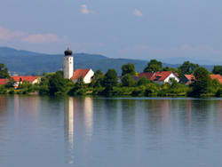 danube river germany church