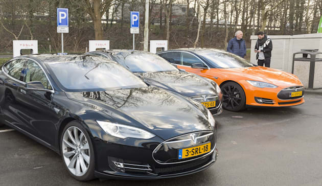 NETHERLANDS-TRANSPORT-ELECTRIC-CAR