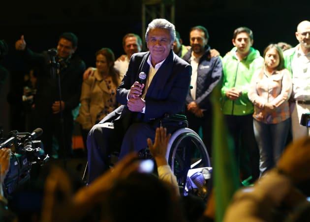 Lenín Moreno encabeza encuestas con miras a la segunda vuelta — Ecuador