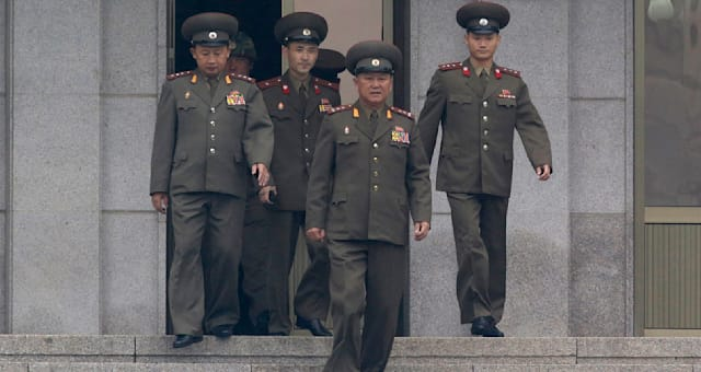 South Korea North Korea Remains