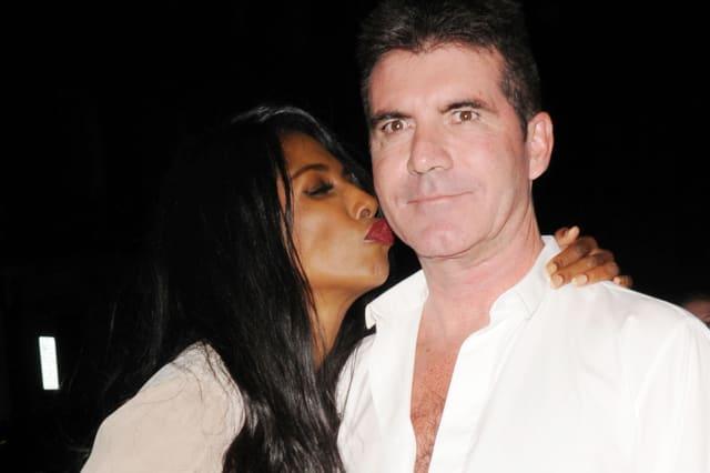 Simon Cowell asks Sinittia to be Eric's godmother