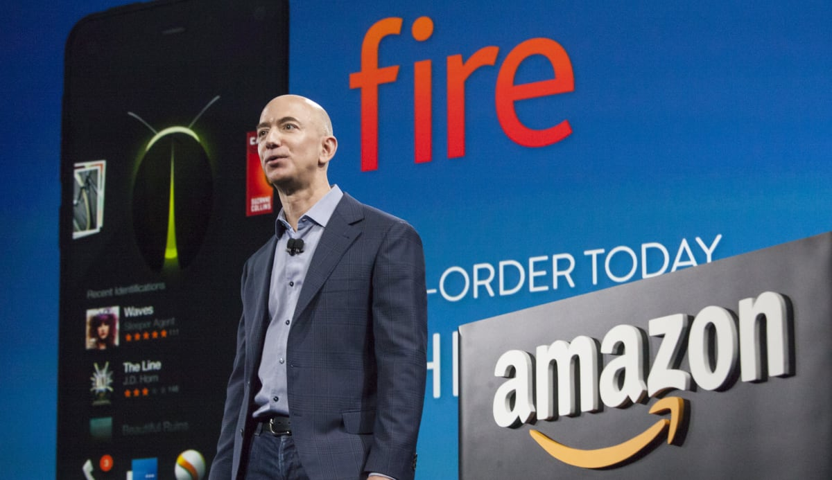 Amazon Unveils Its First Smartphone