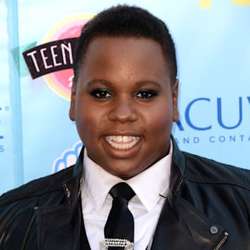 2013 Teen Choice Awards - Arrivals (Alex Newell arrives at the Teen Choice Awards at the Gibson Amphitheater on Sunday, Aug. 11,