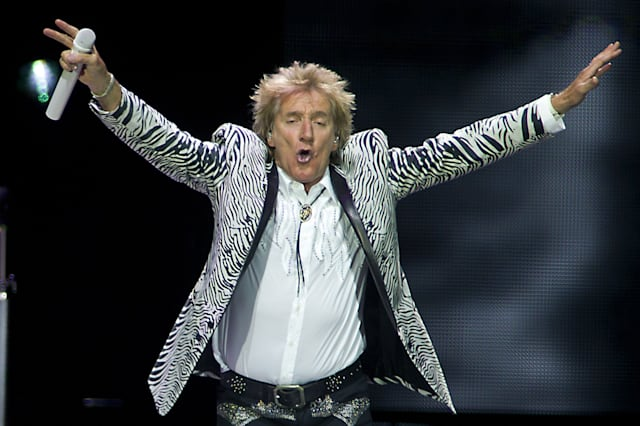 NETHERLANDS-US-ENTERTAINMENT-MUSIC-CONCERT-ROD STEWART