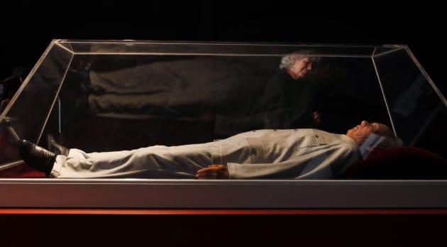 Fidel Castro reaparece... como pieza de arte en Hong Kong