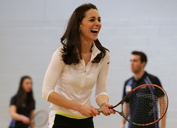 How Kate Middleton wears workout clothes