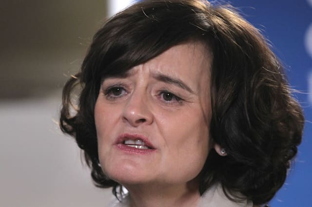 Cherie Blair, wife of former U.K. Prime Minister Tony Blair,