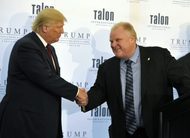 Trump organization ends management of Toronto tower
