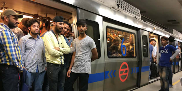 Porn clip played at Rajiv Chowk metro station, video goes viral