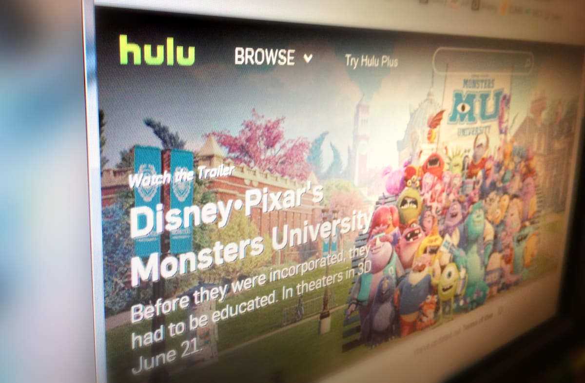 Hulu reportedly wants to sell part of itself to Time Warner