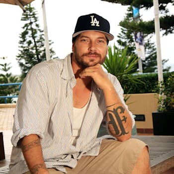 Kevin Federline Photo Shoot In Sydney