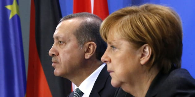 Erdogan accuse Merkel de