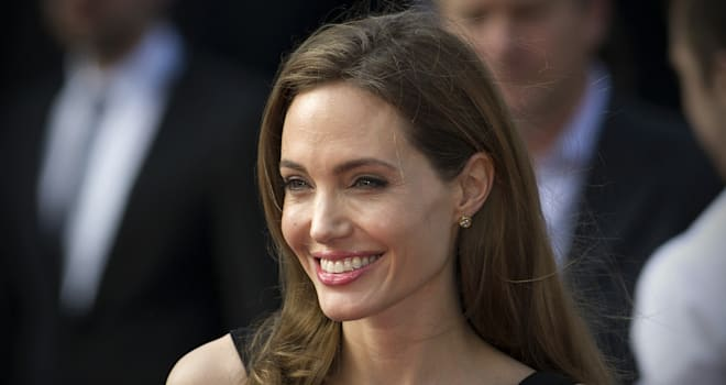 Angelina Jolie at the UK Premiere of 'World War Z' on June 2, 2013
