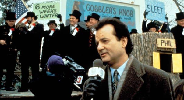 GROUNDHOG DAY -1993 BILL MURRAY