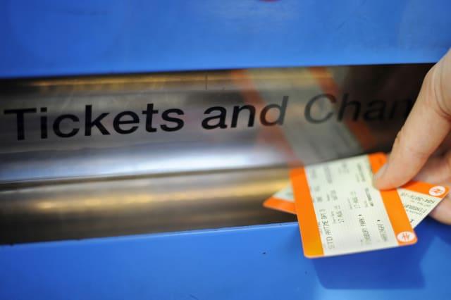 Train fare dodging