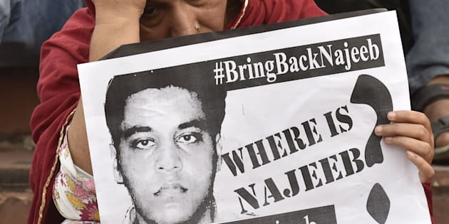 600 cops comb JNU for clues to trace missing student Najeeb Ahmad