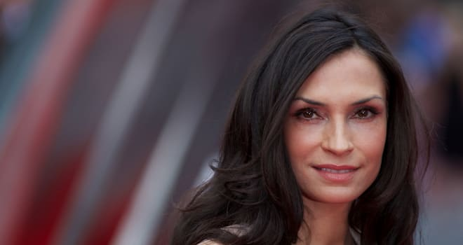 Famke Janssen at the London premiere of 'The Wolverine' on July 16, 2013
