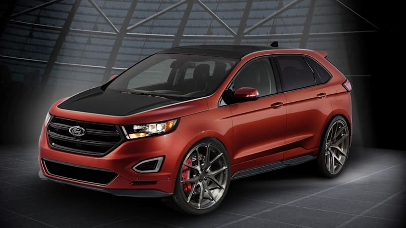 Ford Edges its way to SEMA