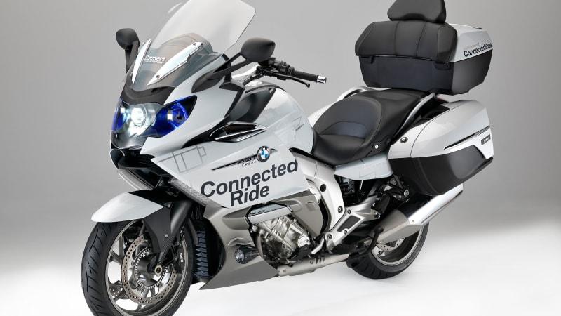 BMW brings laser headlights and HUD helmet to motorcycles