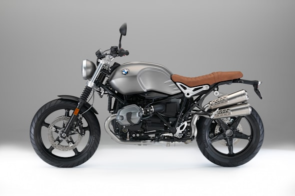 BMW Motored R nine T scrambler