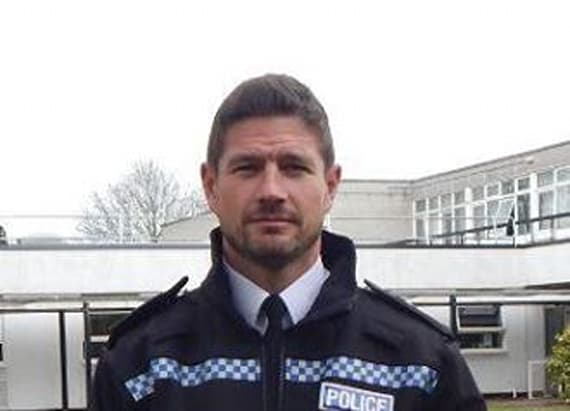 Britain's sexiest officer takes internet by storm