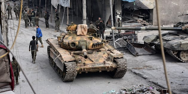 Le cri d'alarme des Nations-Unies — Alep