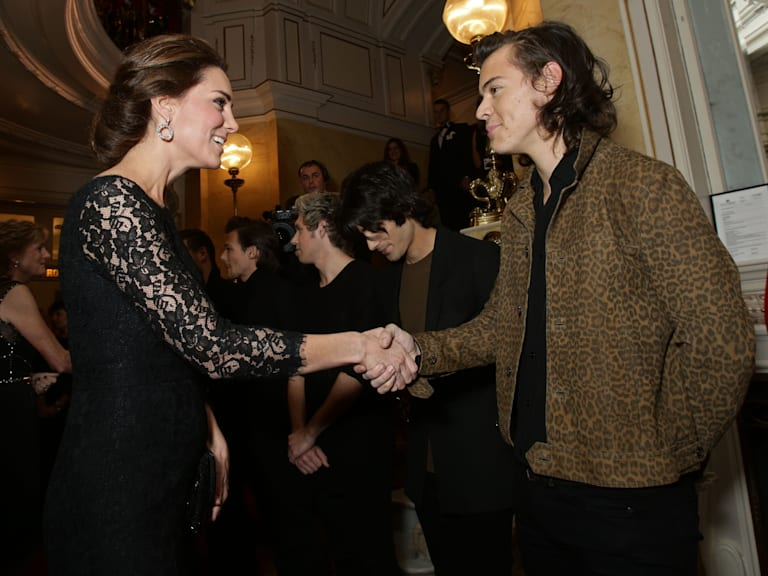 Kate Middleton meets Harry Styles