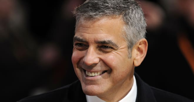 George Clooney at the 2012 BAFTA Awards in London