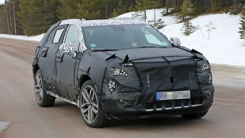 Cadillac caught testing the upcoming XT3 SUV again