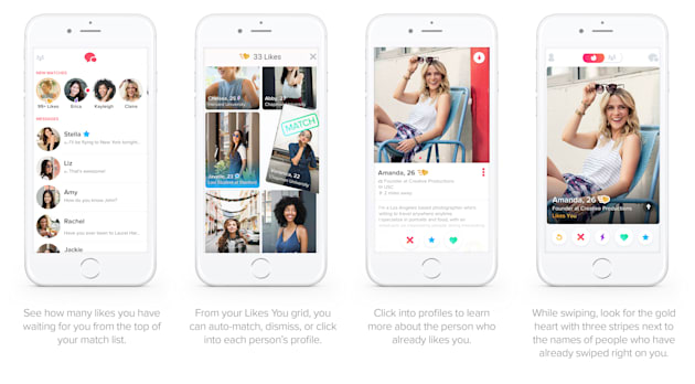 Tinder update shows who is swiping right