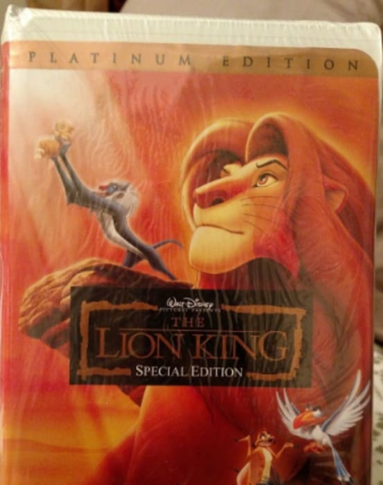 the top 5 most ridiculously priced disney vhs tapes
