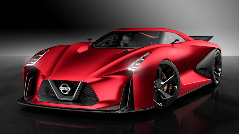 Nissan Concept 2020 Vision Gran Turismo looks awesome in red