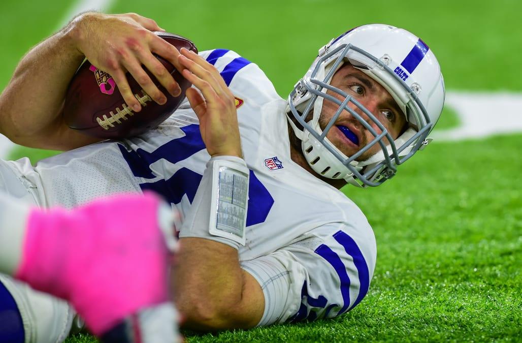 NFL: OCT 16 Colts at Texans