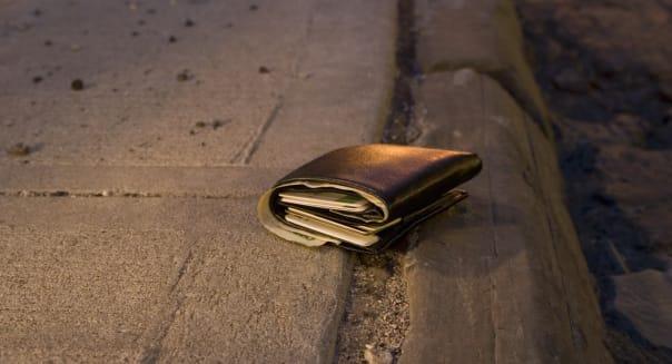 Lost Wallet on an Empty Street
