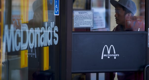 McDonald's February U.S. Sales Chilled by Weather