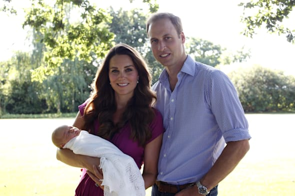 First official photo of Prince George