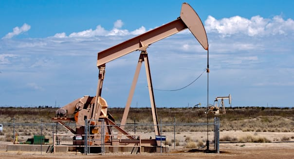 The Midland/Odessa part of West Texas still supplies much of the USA with oil.