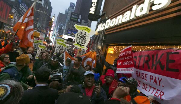Fast Food Strikes
