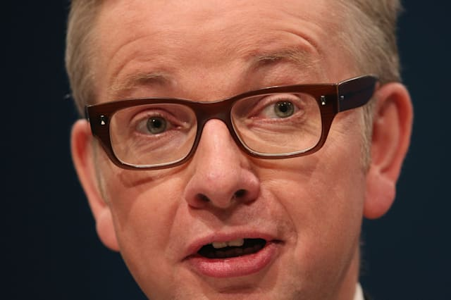 Michael Gove, the Secretary of State for Education