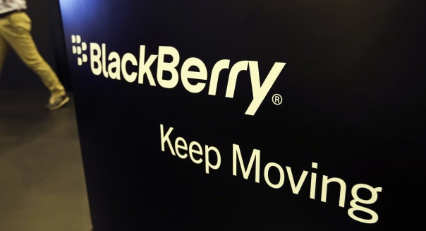 BlackBerry Reports Loss as Smartphone Sales Keep Sliding