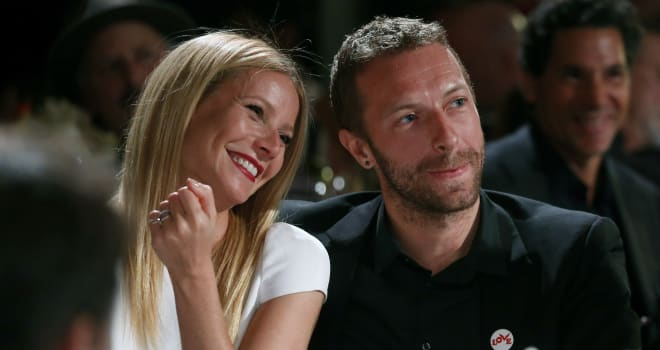 Gwyneth Paltrow Chris Martin separate