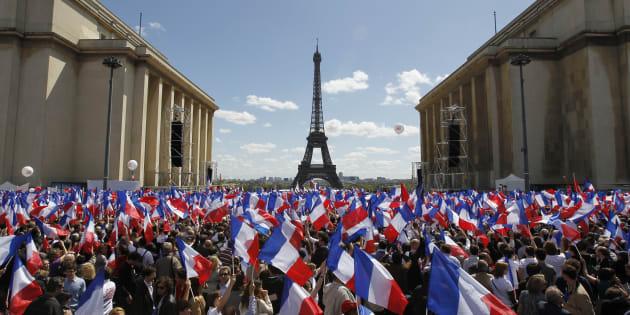 Combien de personnes étaient présentes au meeting de François Fillon au Trocadéro?