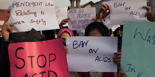 Jilted lover held for acid attack