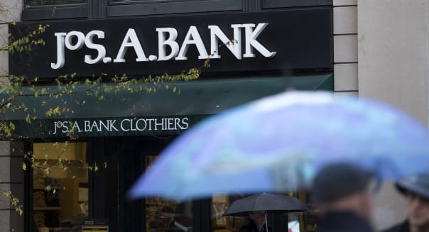 Men's Wearhouse, Jos A. Bank to exchange info